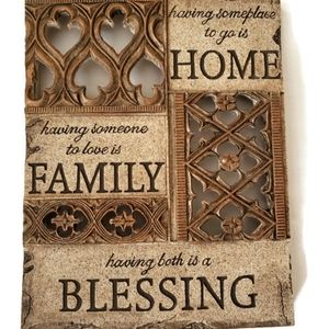 New Home blessing Wall plaque